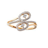 Duo Tribe Diamond Ring