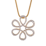 Flora Diamond Pendant