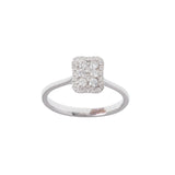 Hexa Rectangle Diamond Ring