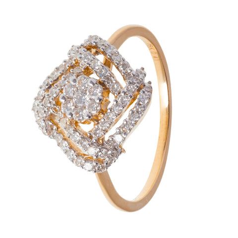 Nested Diamond Ring