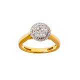Quartet Round Diamond Ring
