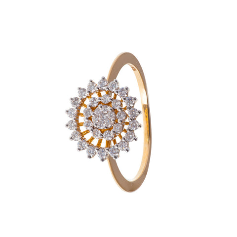 Solarium Diamond Ring