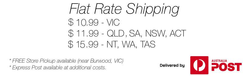 Australia Wide LEGO Delivery Rates