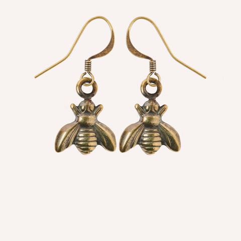 Bee Charm Earrings