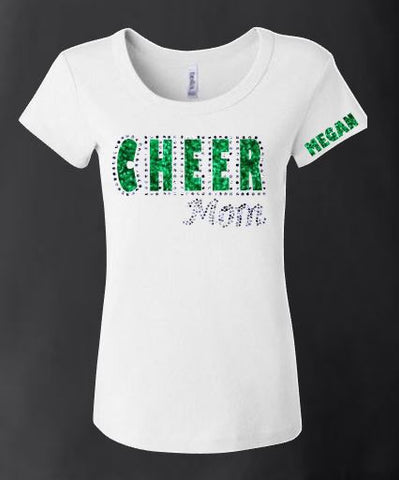 Cheer Mom Bling