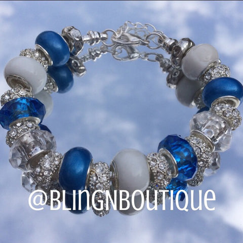 Spirit Bracelet - Blue/White