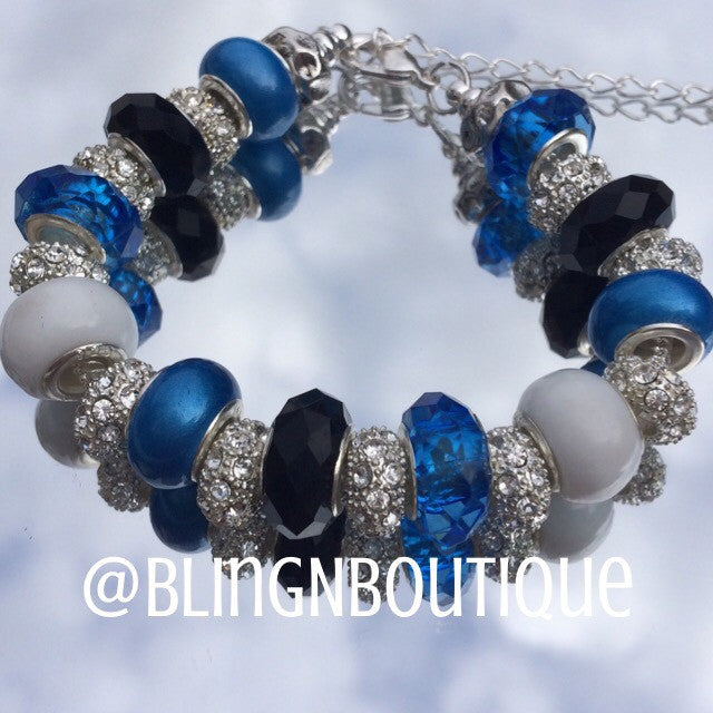 Spirit Bracelet - Blue/White/Black