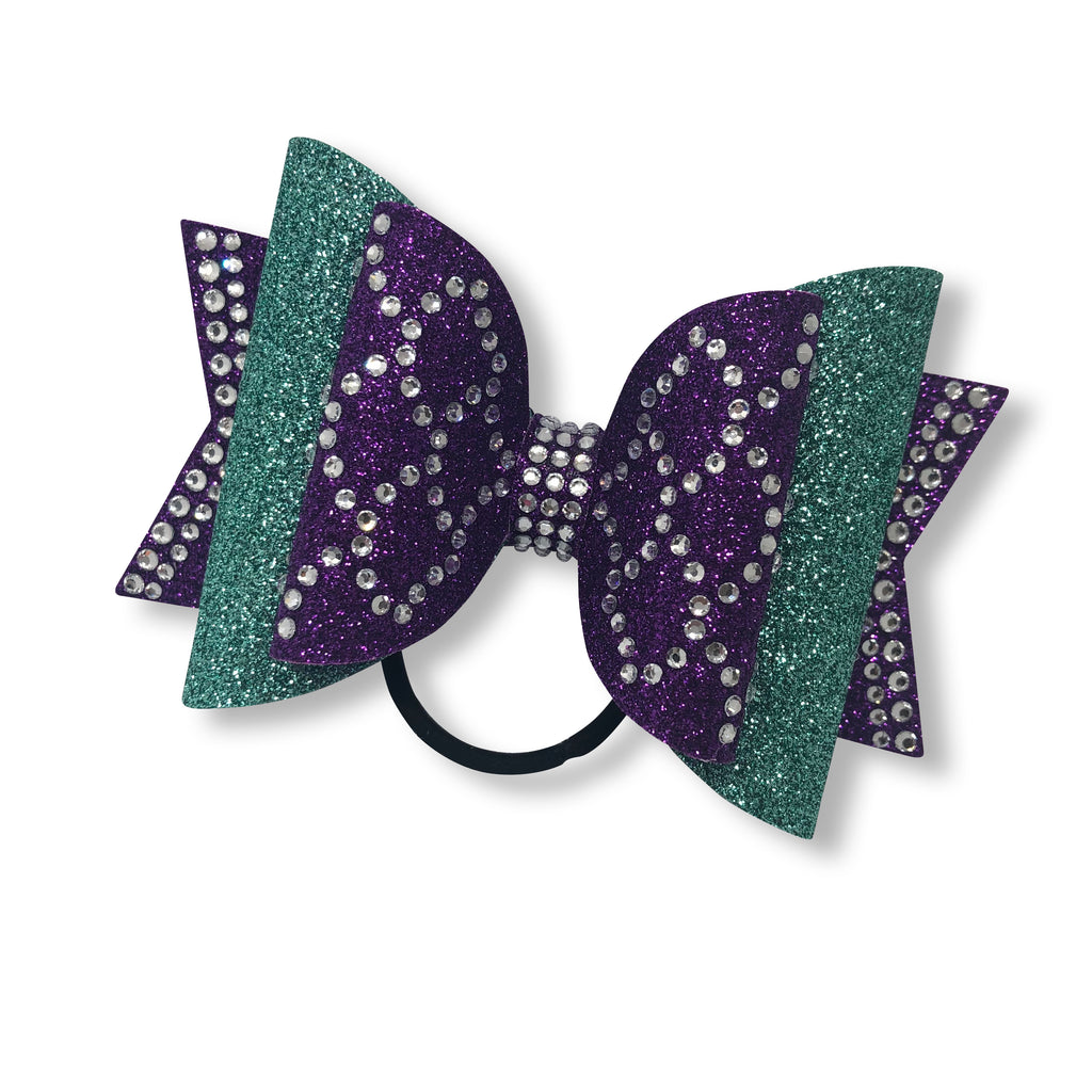 Mermaid in Bling Dolly Bow