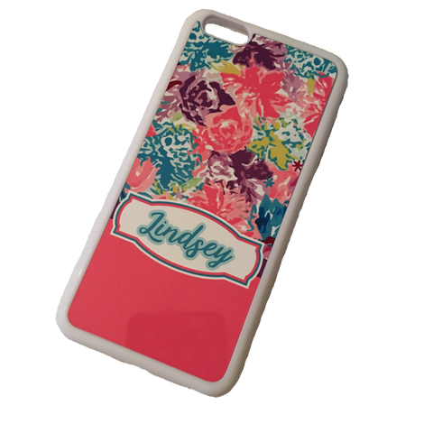 Floral Personalized Phone Case