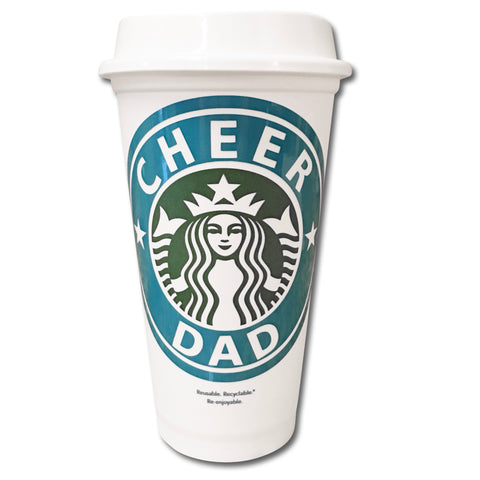 Cheer Dad Starbucks Cup