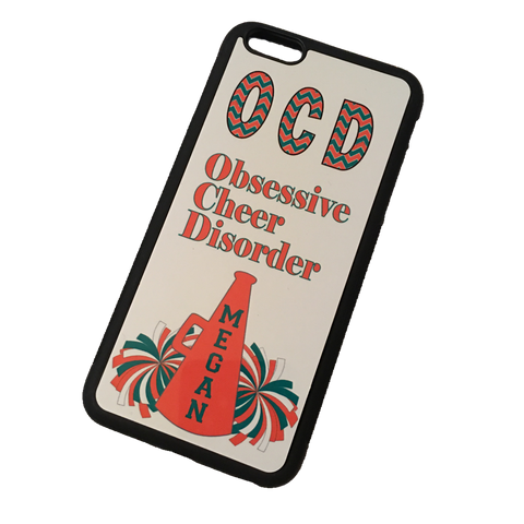OCD - Obsessive Cheer Disorder Phone Case