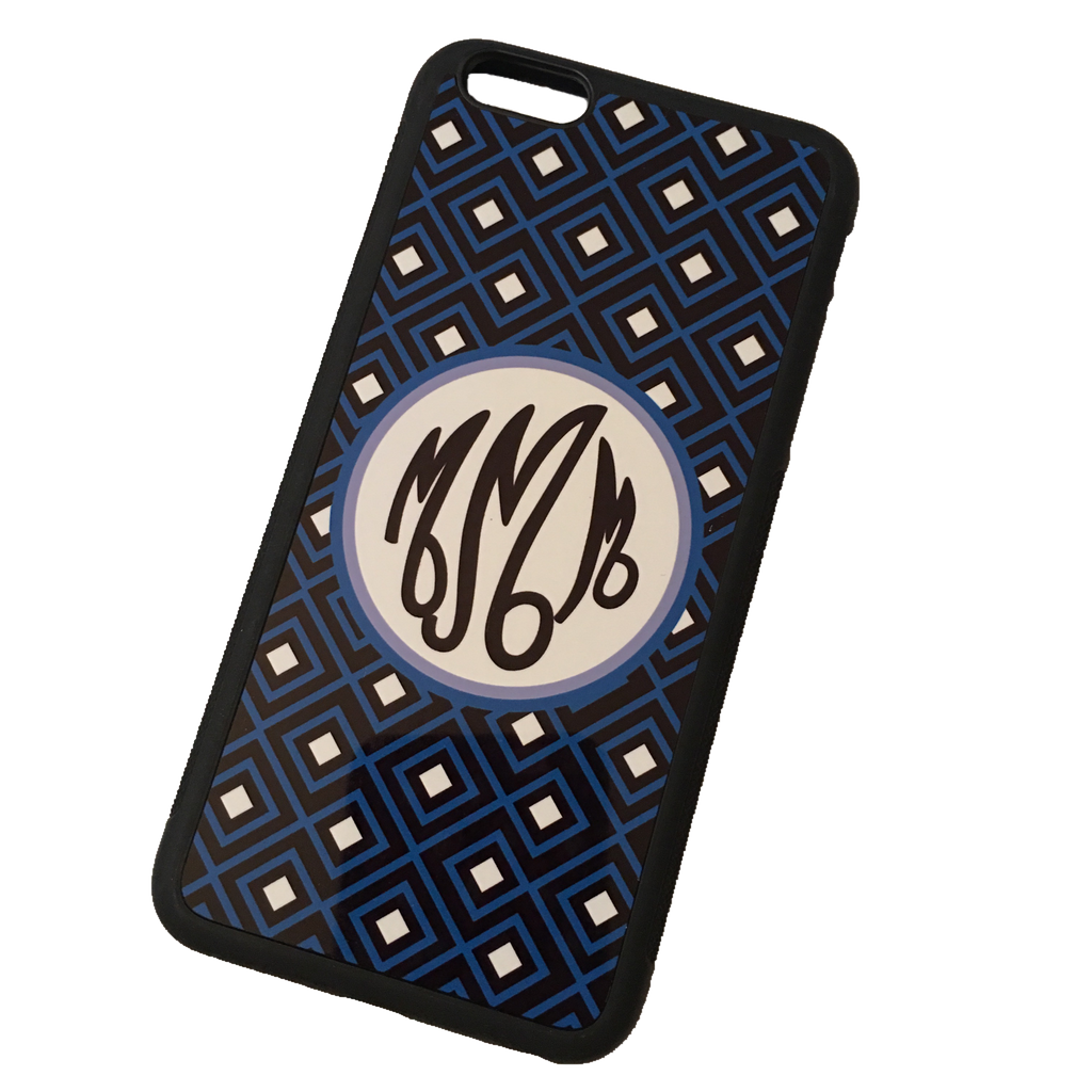 Geometric Monogram Phone Case