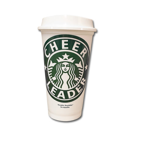 Cheerleader Starbucks Cup