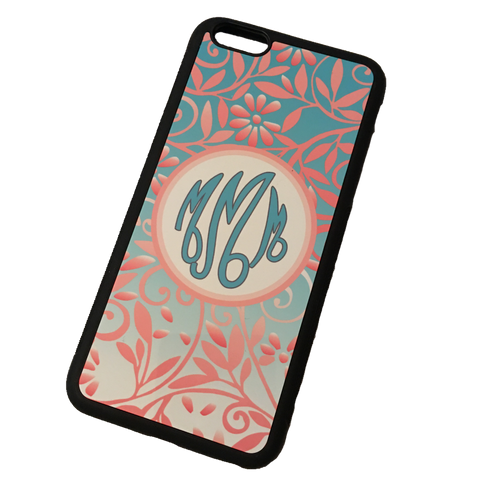 Floral Monogram Phone Case