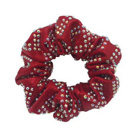 Simply Scrunchie in Squares in Bling - 18 Colors Available