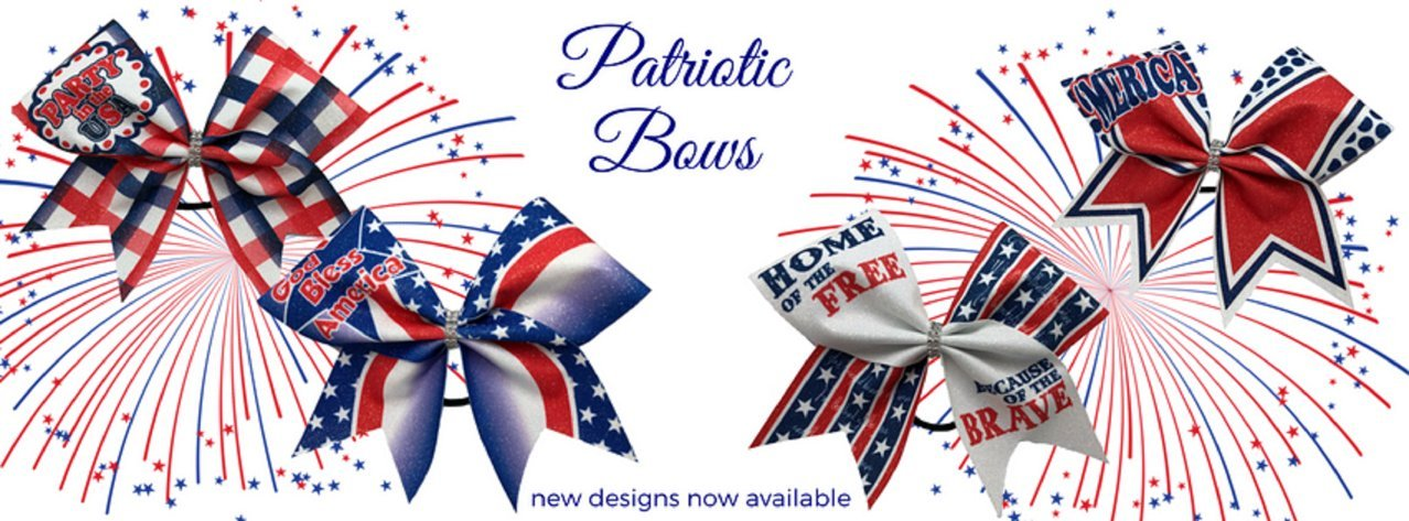 BlingNBoutique Patriotic Bows