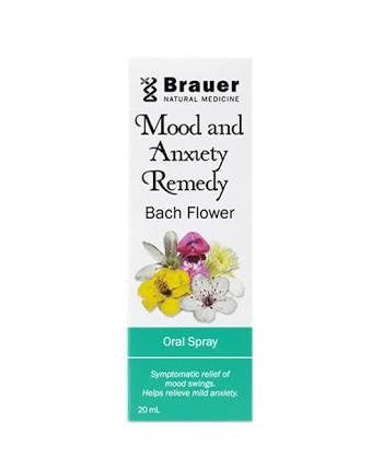 Brauer Mood & Anxiety Remedy Bach Flower Oral Spray 20ML