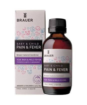 Brauer Pain & Fever 50ML