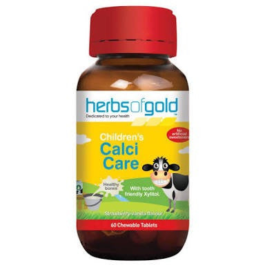 Herbs Of Gold Children's Calci Care 60T