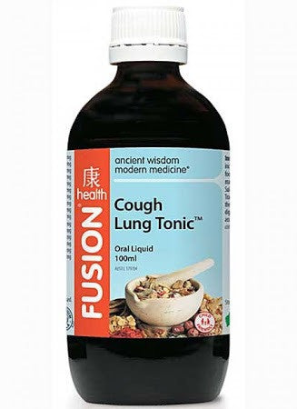 Fusion Health Cough & Lung Tonic Oral Liquid