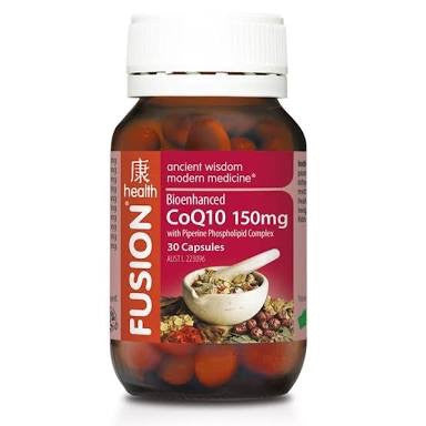 Fusion Health CoQ10 150MG