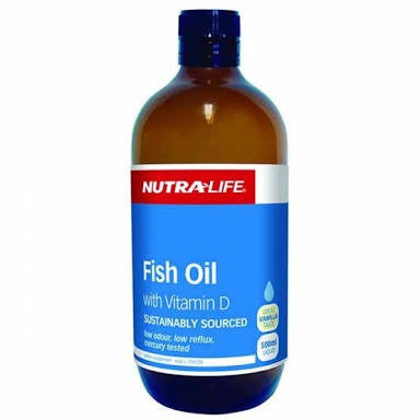 Nutralife Fish Oil With Vitamin D 500ML