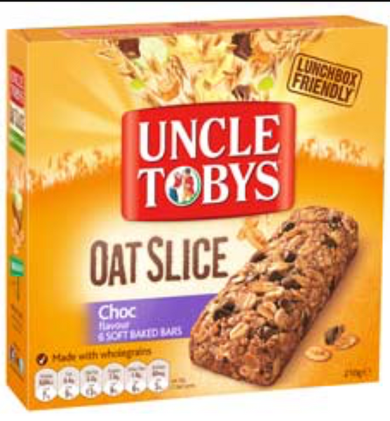 Uncle Tobys Snack Bar