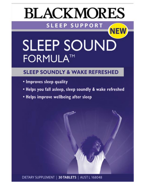 Blackmores Sleep Sound Formula 30 Tablets