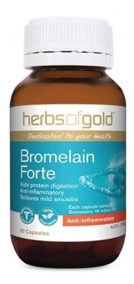 Herbs of Gold Bromelain 60C