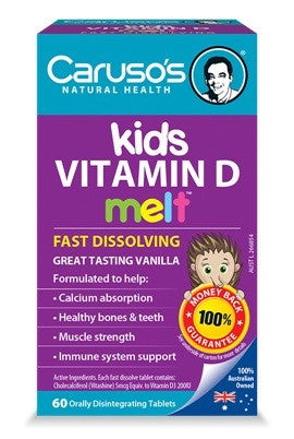 Caruso's Kids Vitamin D Melt 60T