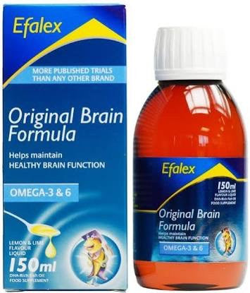 Efamol Efalex Original Brain Formula Liquid 150ml Omega 3 & 6