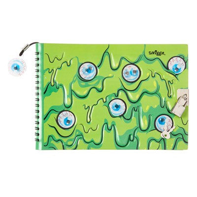 Smiggle world a5 lockable notebook
