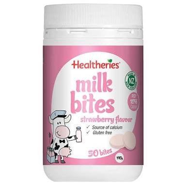Healtheries Milk Bites Strawberry 50T