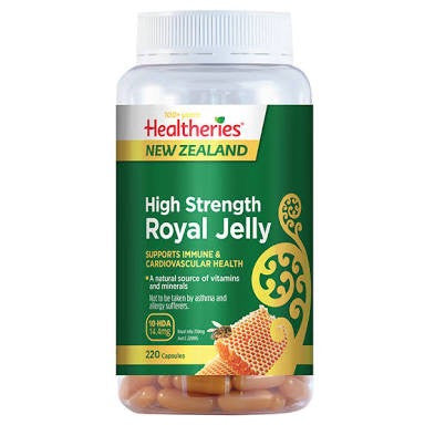 Healtheries High Strength Royal Jelly 220C