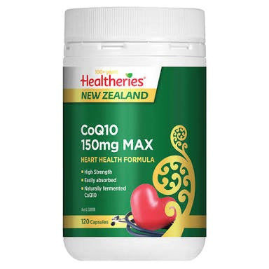 Healtheries COQ10 150mg Max 120C
