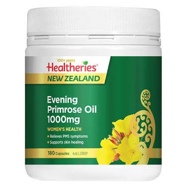 Healtheries Evening Primrose Oil 1000mg 180C