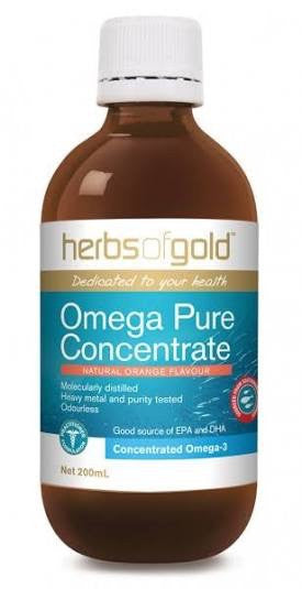 Herbs Of Gold Omega Pure Concentrate 200ML