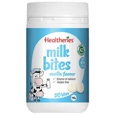 Healtheries Milk Bites Vanilla 50T