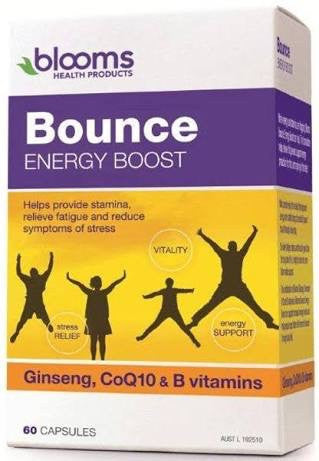 BLOOMS BOUNCE ENERGY BOOST 60 CAPSULES