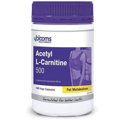 BLOOMS ACETYL L-CARNITINE 180 VEGE CAPSULES
