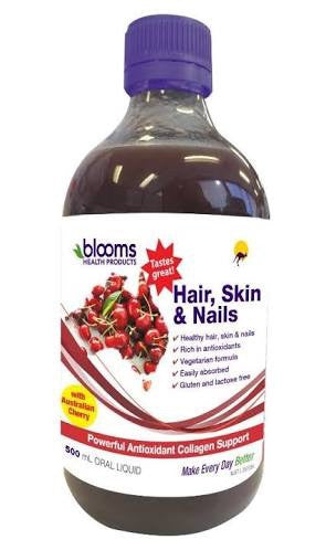 BLOOMS HAIR, SKIN & NAILS ORAL LIQUID 500ML