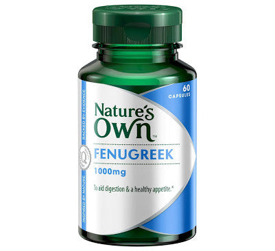 Fenugreek 1000mg 60 Capsules