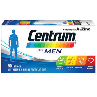 Centrum for Men 90 Tablets