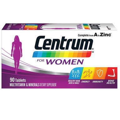 Centrum For Women 90 Tablets Exclusive Size