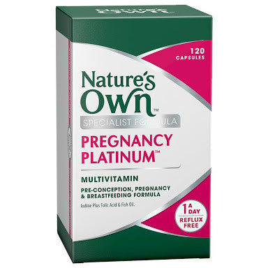 Nature's Own Pregnancy Platinum Multi 120 Capsules