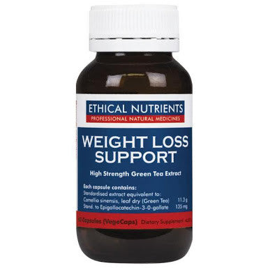 Ethical Nutrients Weight Loss Support Vegetarian 60 Capsules