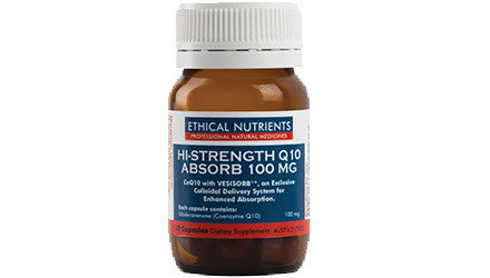 Hi-Strength Q10 Absorb 100mg 30 Capsules
