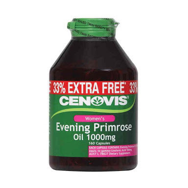 Cenovis Evening Primrose Oil 1000mg 160 Capsules