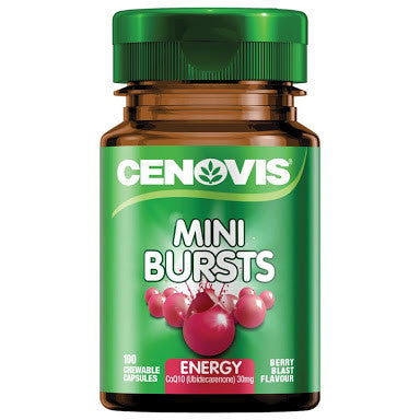 Cenovis Mini-Bursts Energy 100 Capsules