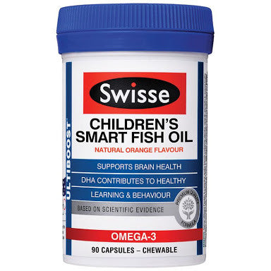 Swisse Ultiboost Children's Smart Fish Oil 90 Capsules